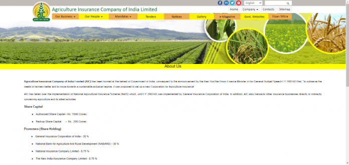 Agriculture Insurance Company of India Review