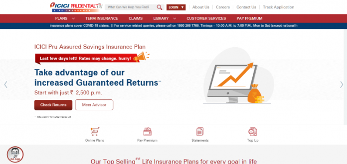 ICICI Prudential Life Insurance