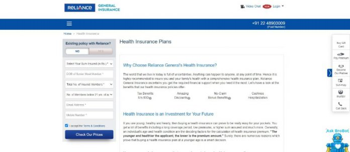 Reliance Health Insurance Limited