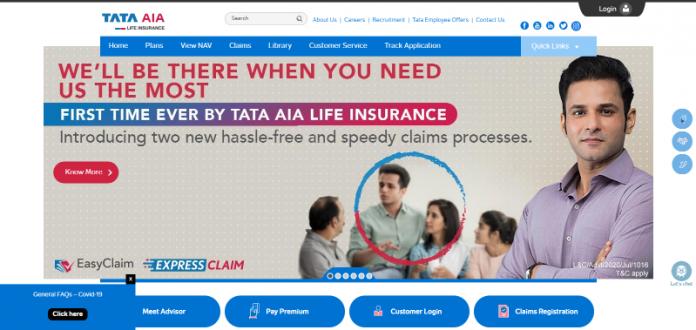 Tata AIA Life Insurance